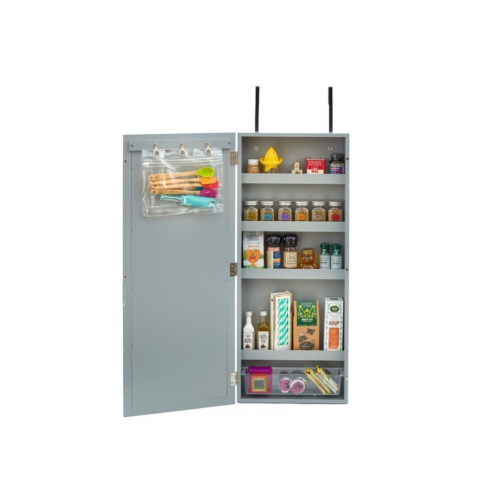 Innerspace Luxury Products Gray Wall Cabinet Organizer