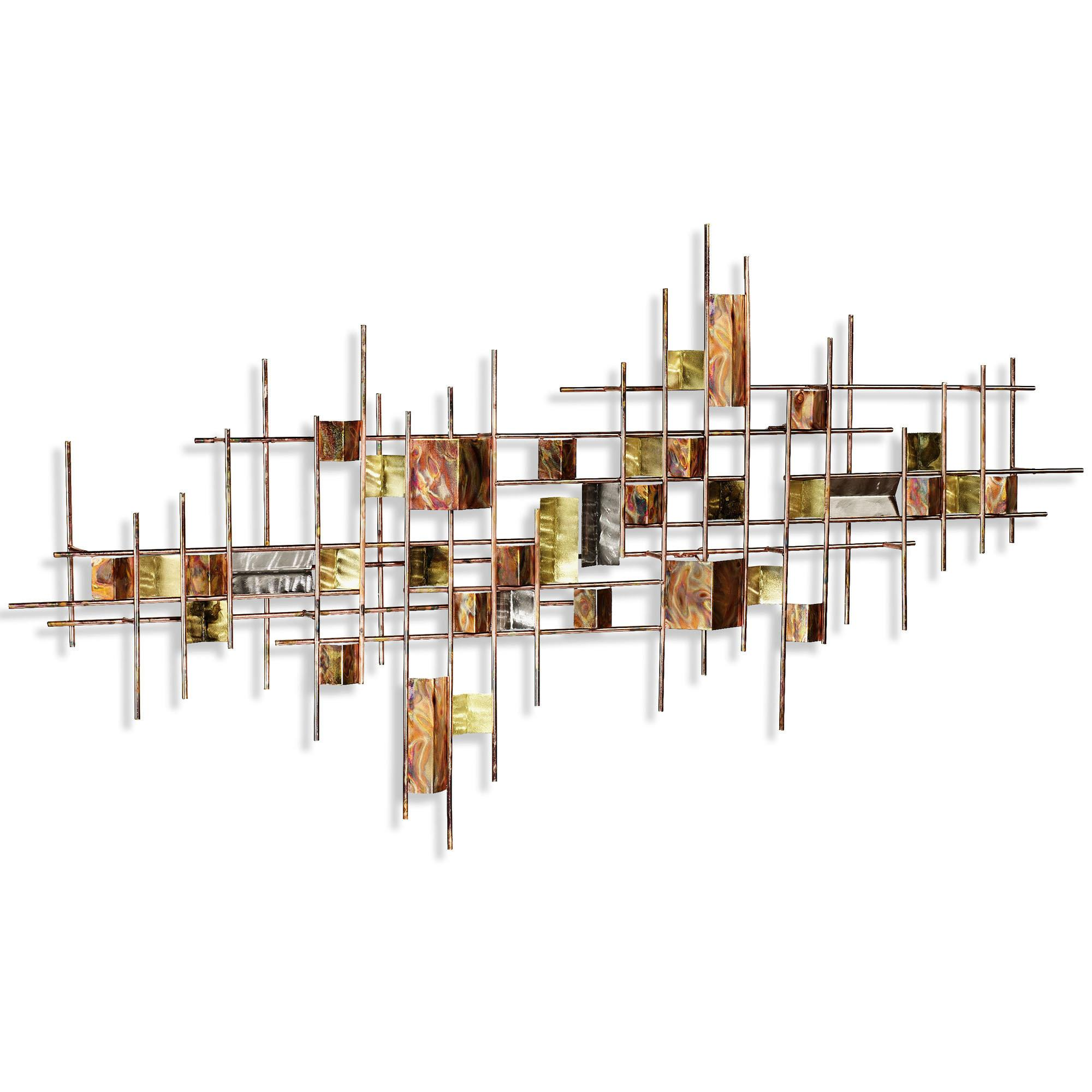 Innovative Metal Wall Art Abstract Decor Contemporary
