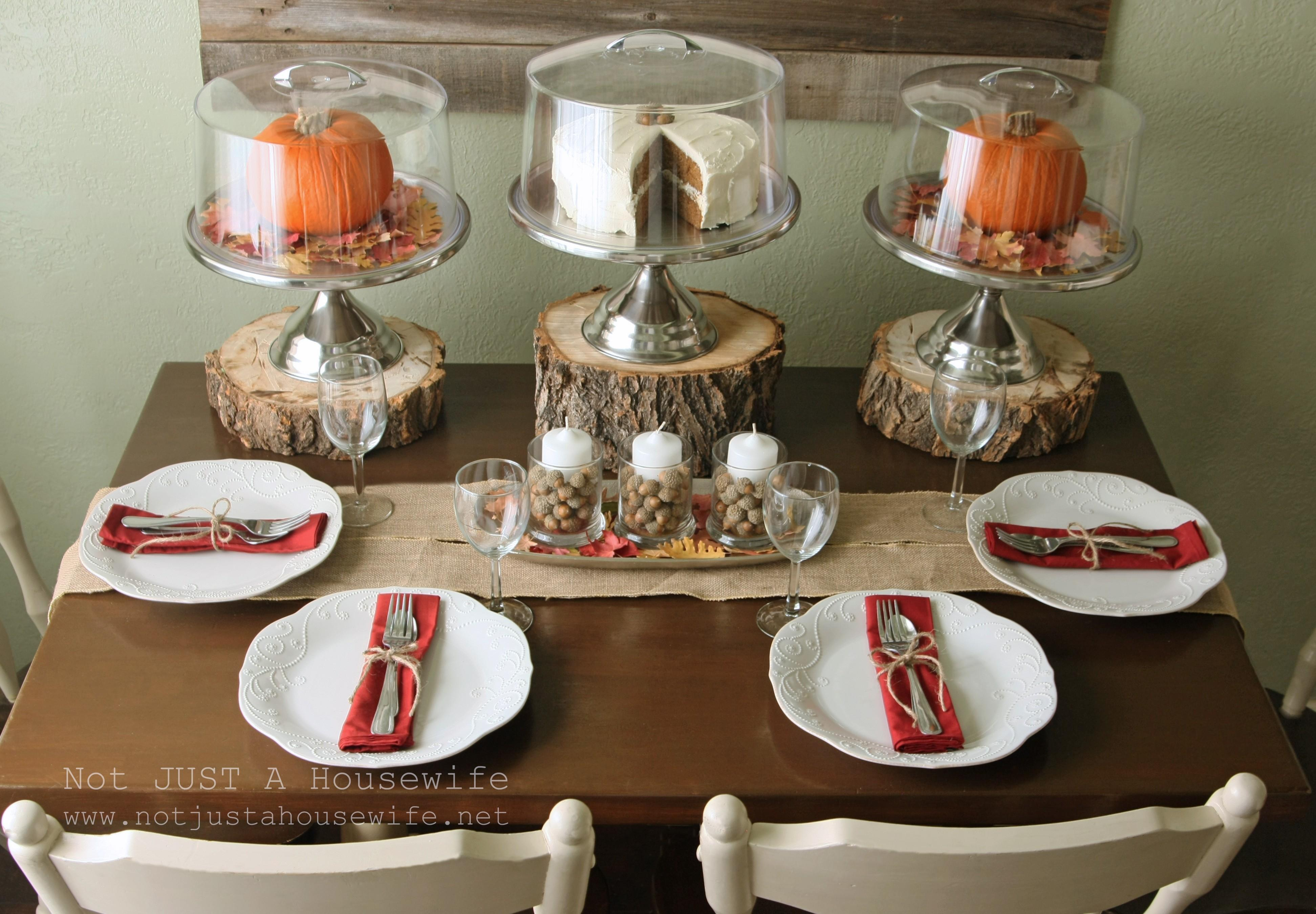 Innovative Thanksgiving Dining Table Decorations Room