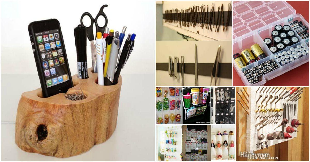Insanely Clever Organizing Storage Ideas Your