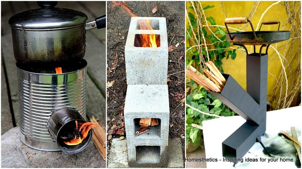 Insanely Cool Diy Rocket Stove Plans Cooking Wood