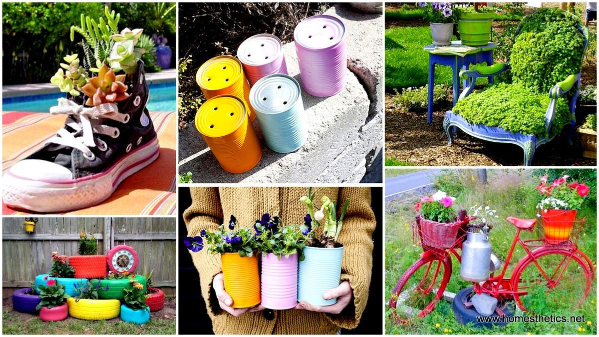 Insanely Creative Diy Garden Container Projects