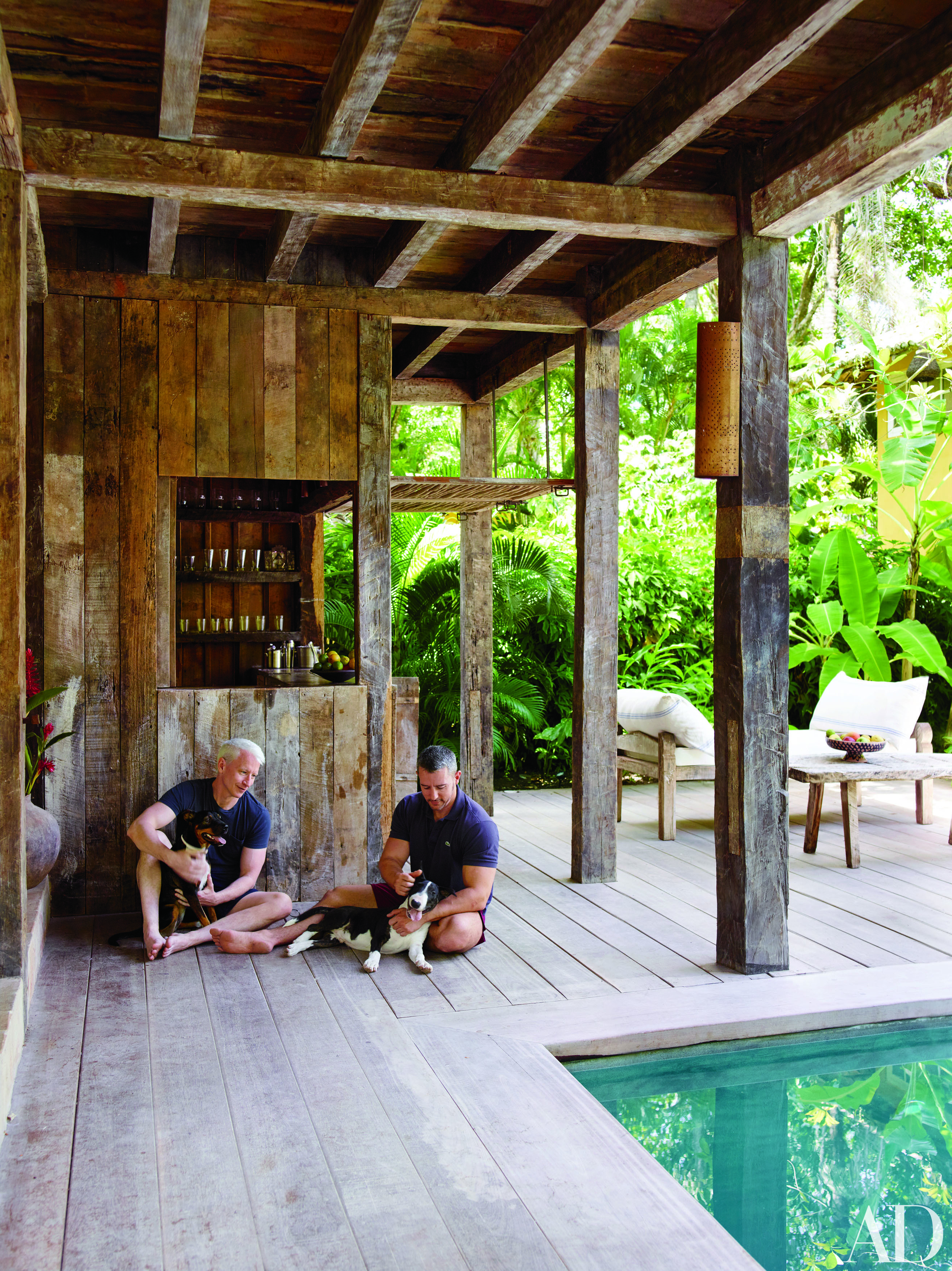 Inside Anderson Cooper Luxurious Brazilian Vacation Home