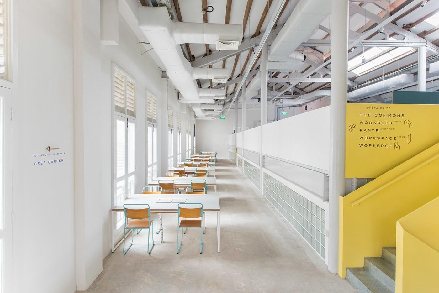 Inside Working Capitol Modern Coworking Space