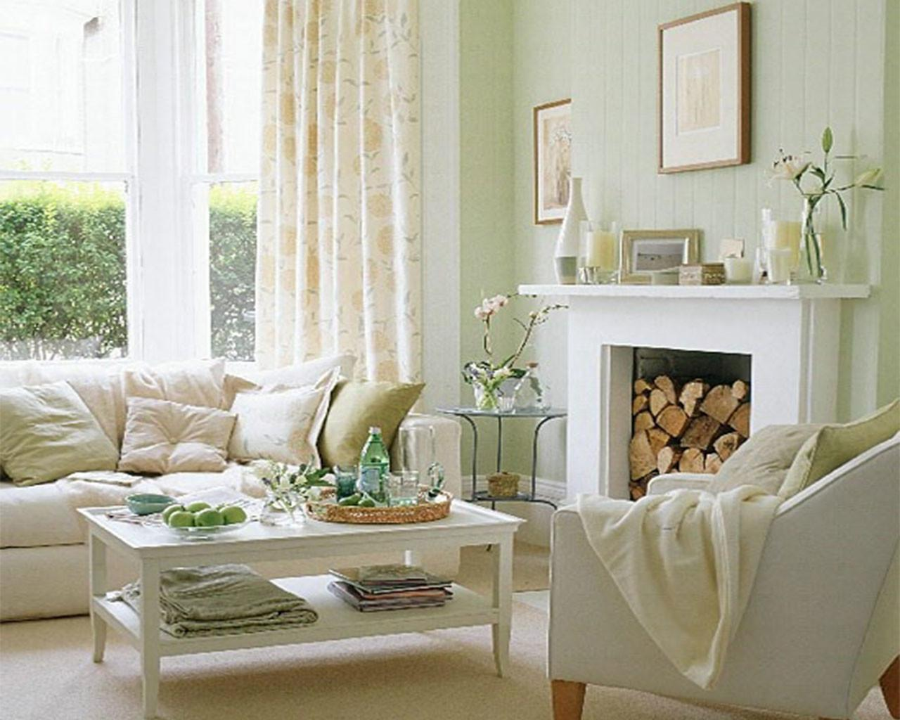 Inspiration Apple Green Living Room Accessories