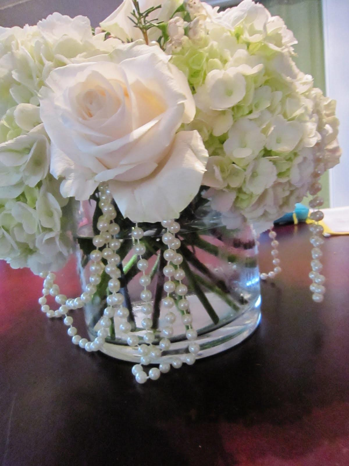 Inspiration Centerpieces Pearls