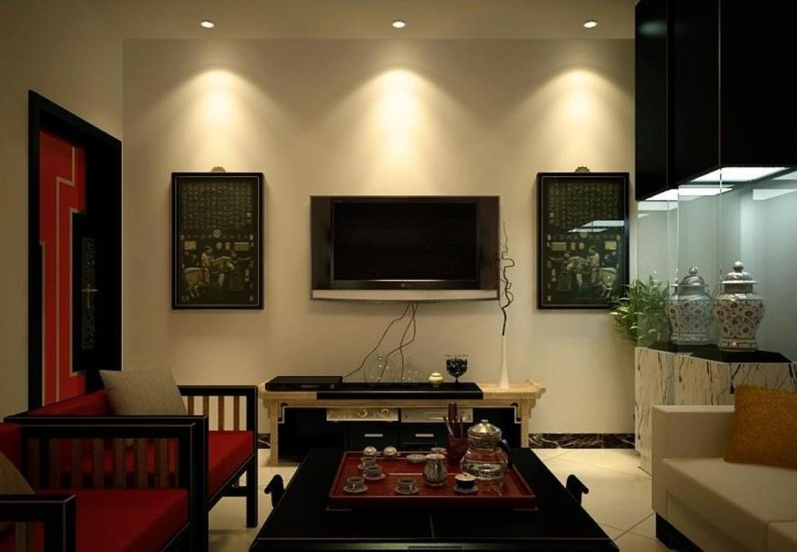 Inspiration China Retro Living Room Lighting Design