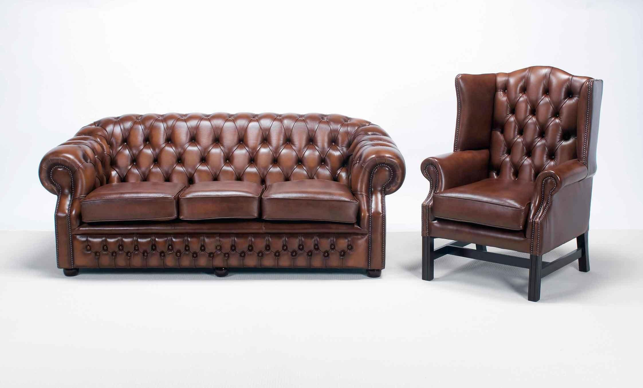 Inspirational Black Leather Chesterfield Armchair Make