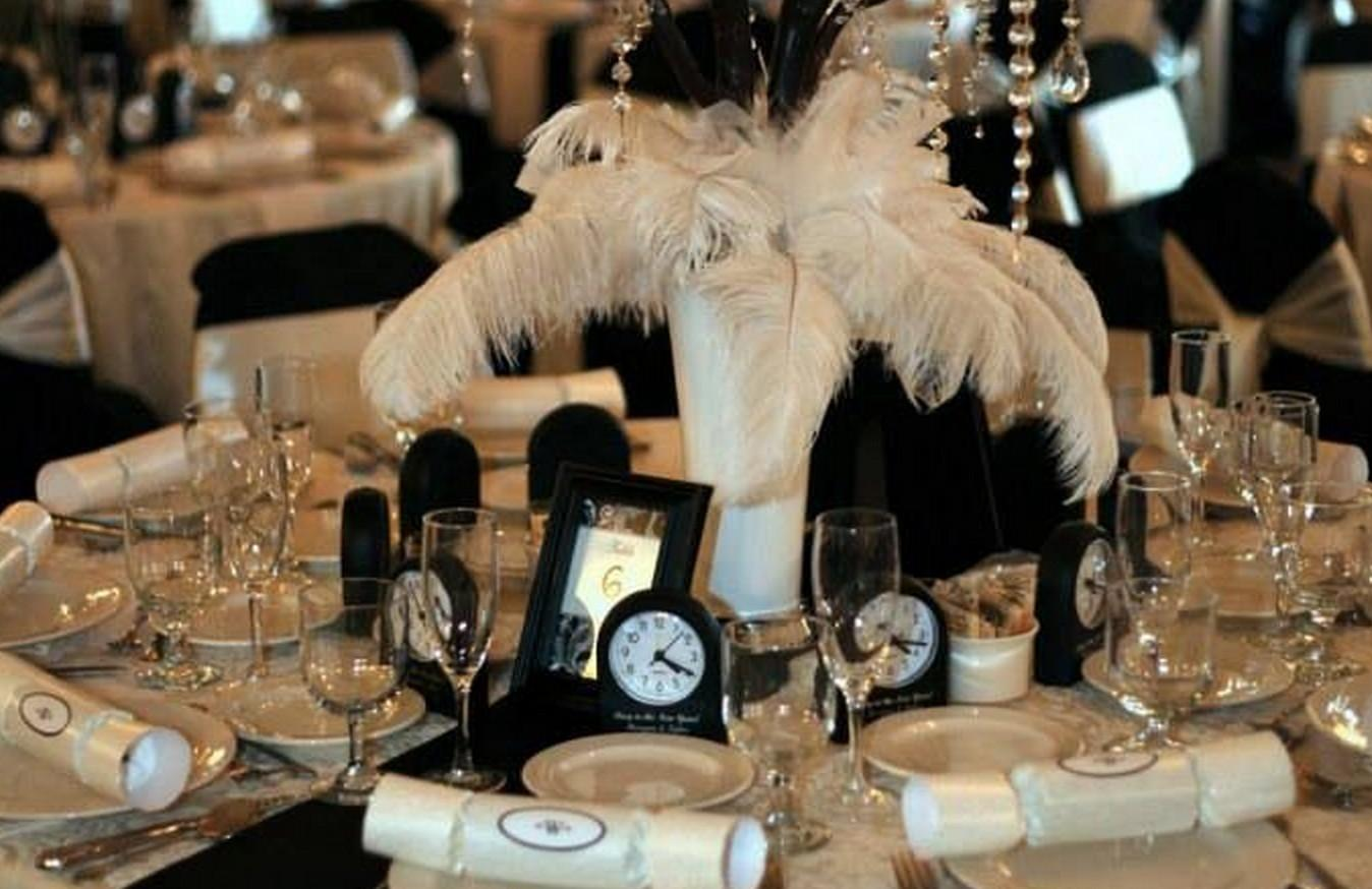 Inspirational Guest Table Arrangement New Year Eve