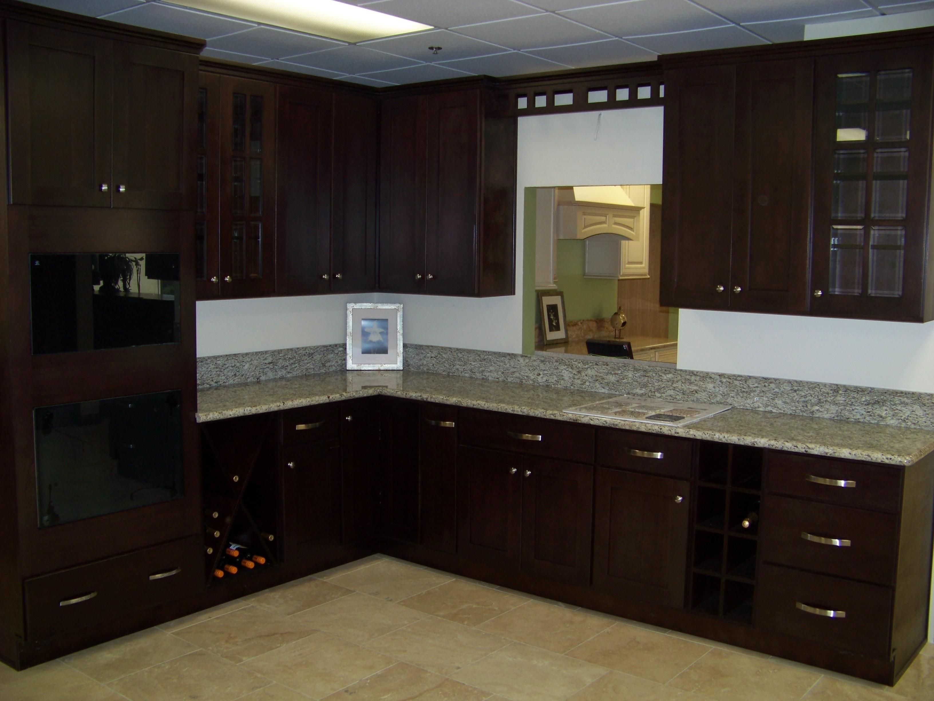 Inspirational Kitchen Colors Dark Cabinets Home