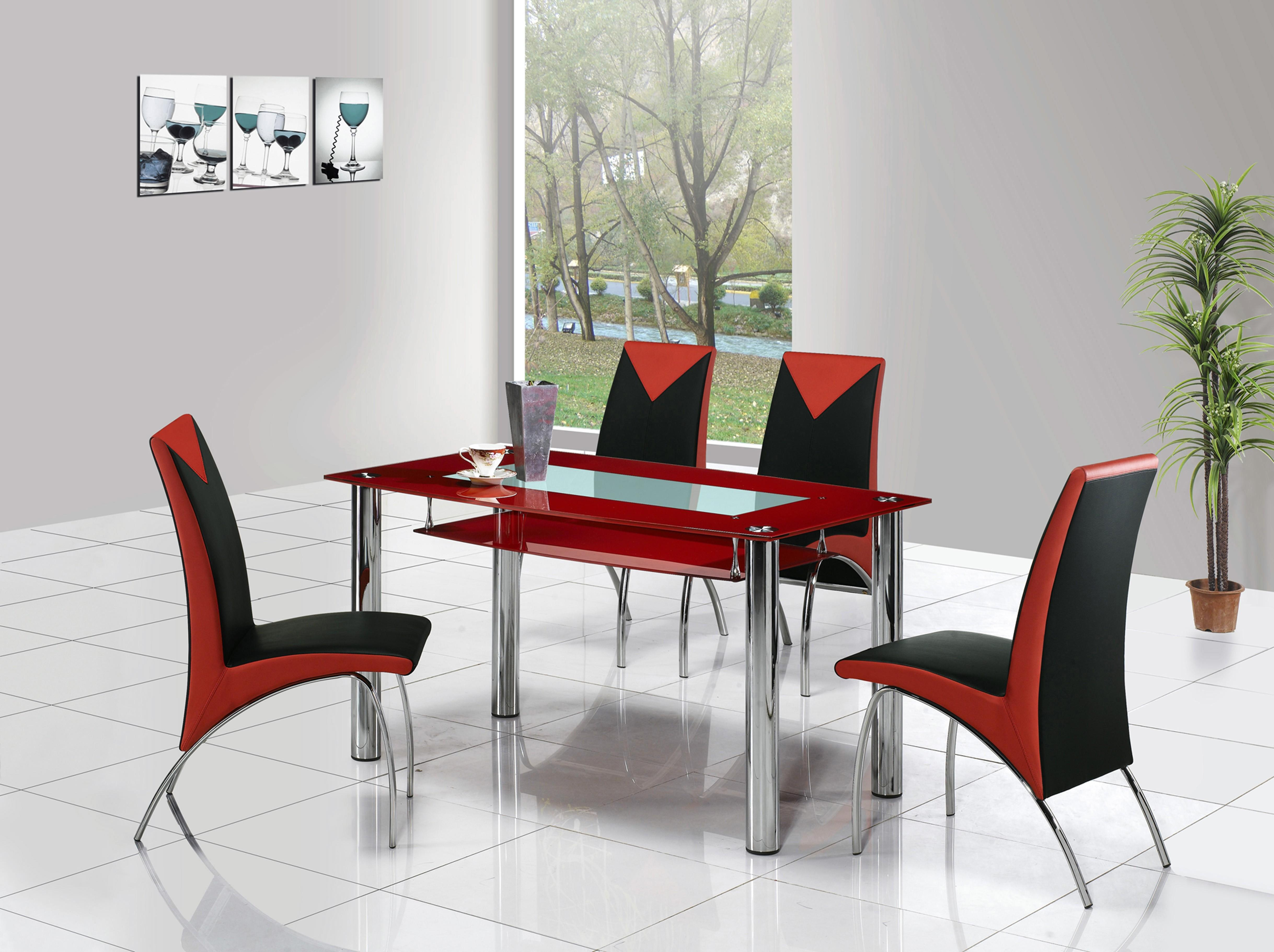 Inspirational Red Dining Rooms Light