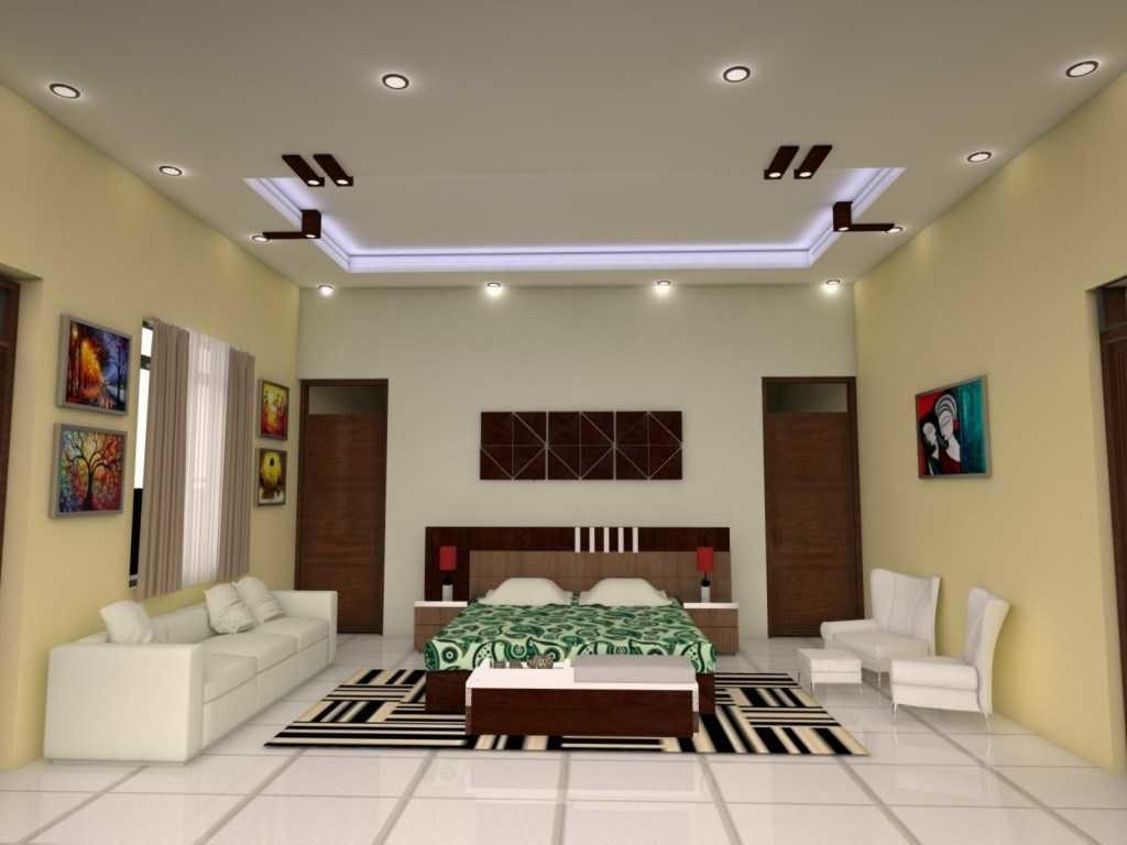 Inspirations Pop Design Hall Without False Ceiling