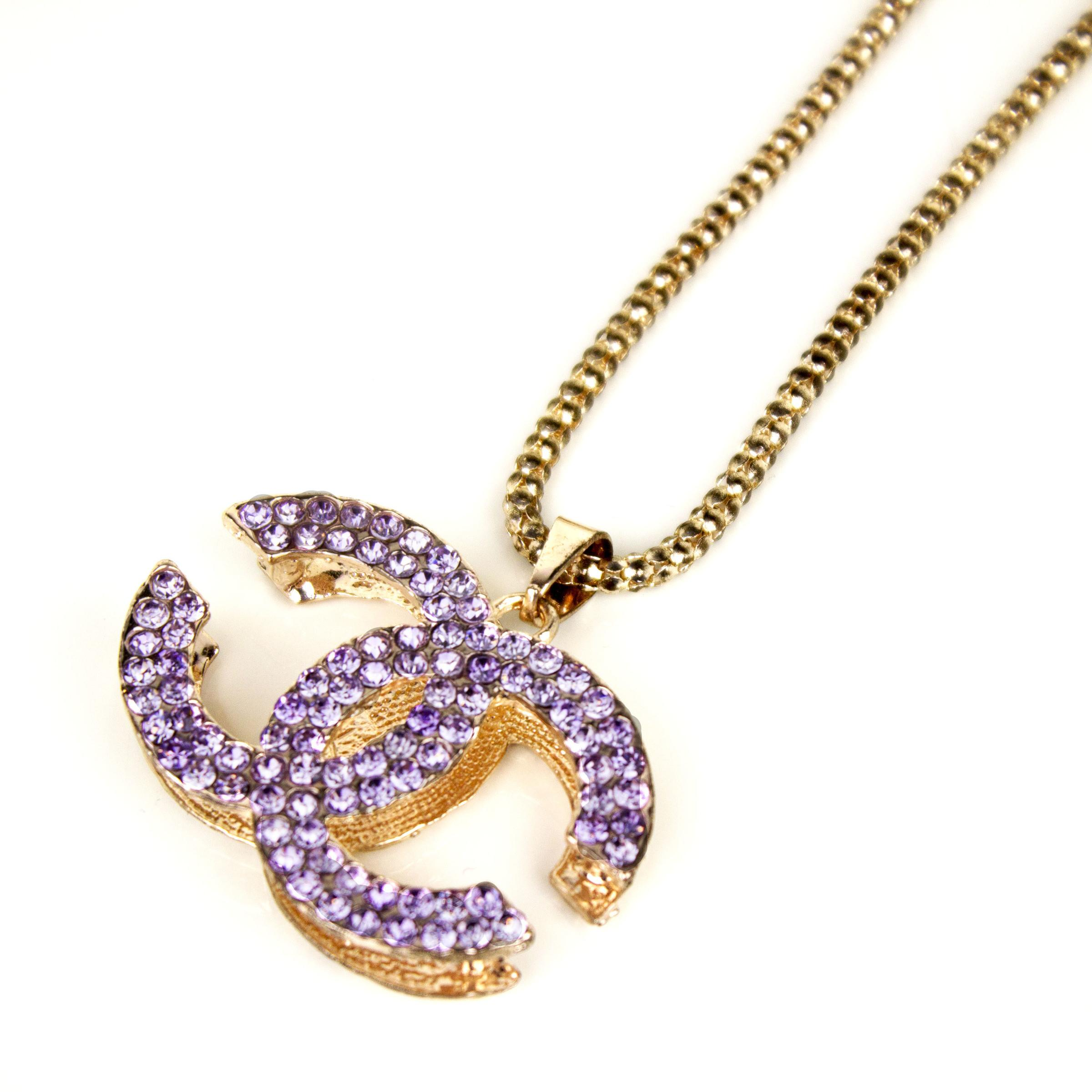 Inspired Chanel Necklace Ladies Room Fashion Malaysia
