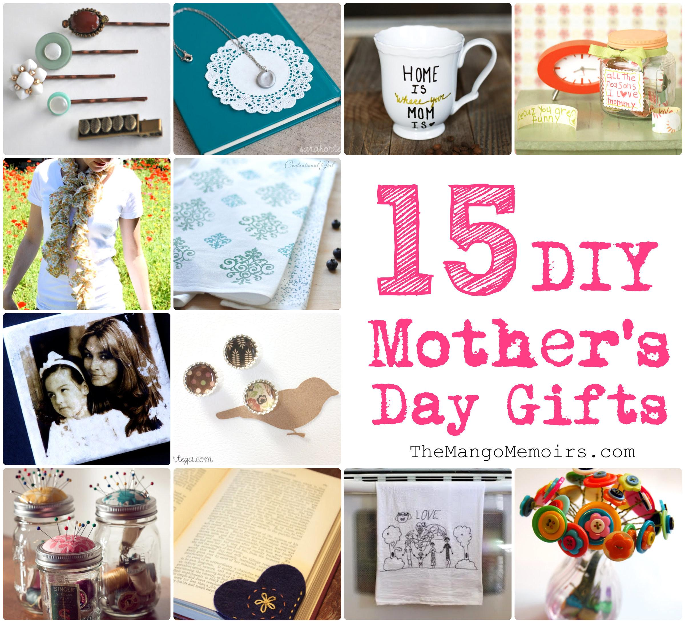 Inspired Diy Gifts Mother Day Mango Memoirs