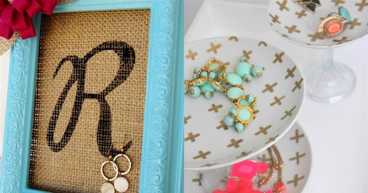 Inspired Diy Jewelry Holders Organize Your