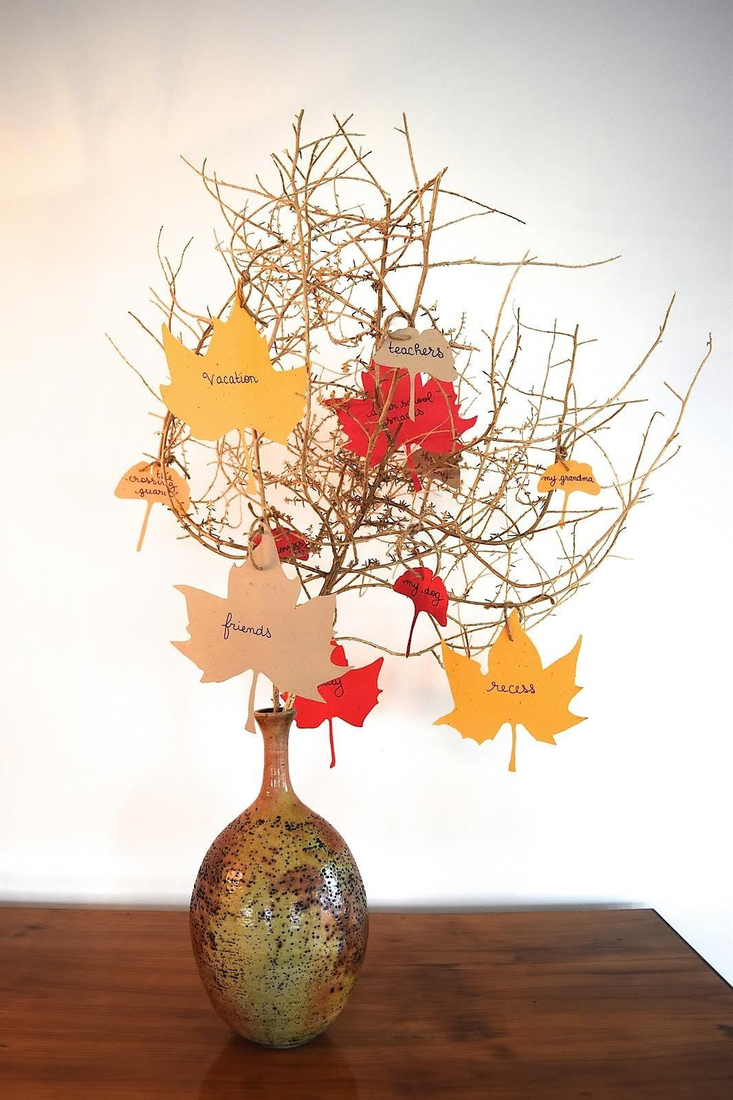 Inspired Thanksgiving Make Tree Thanks