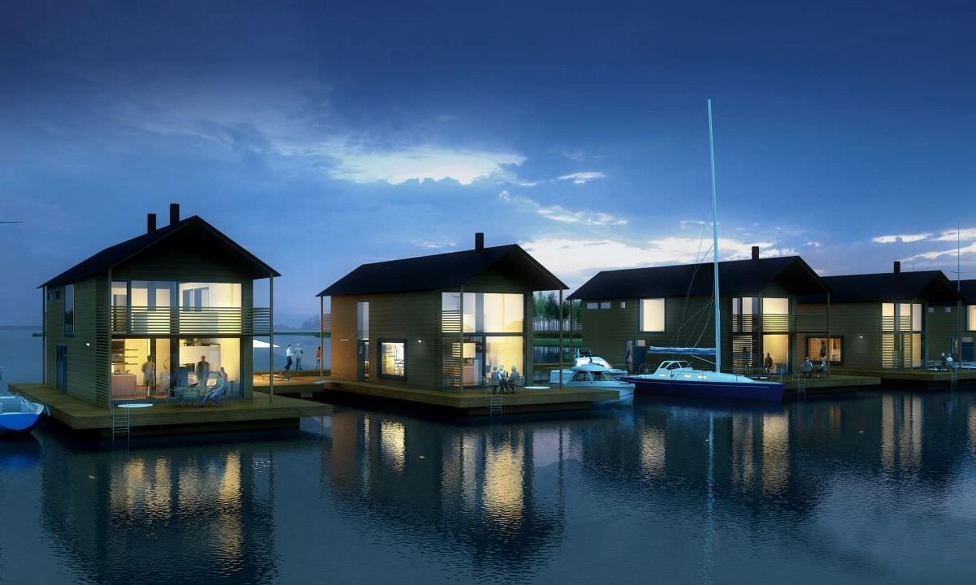 Inspiring Floating Lake House Decide Best