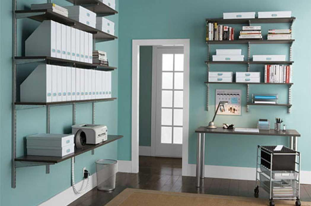 Inspiring Home Office Shelving Ideas Atractive