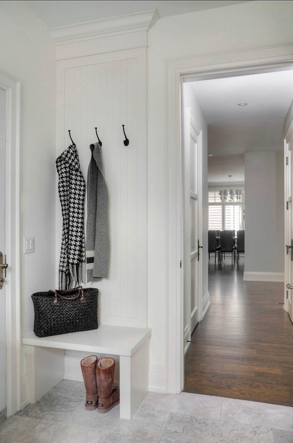 Inspiring Small Mudroom Bench Ideas Besideroom