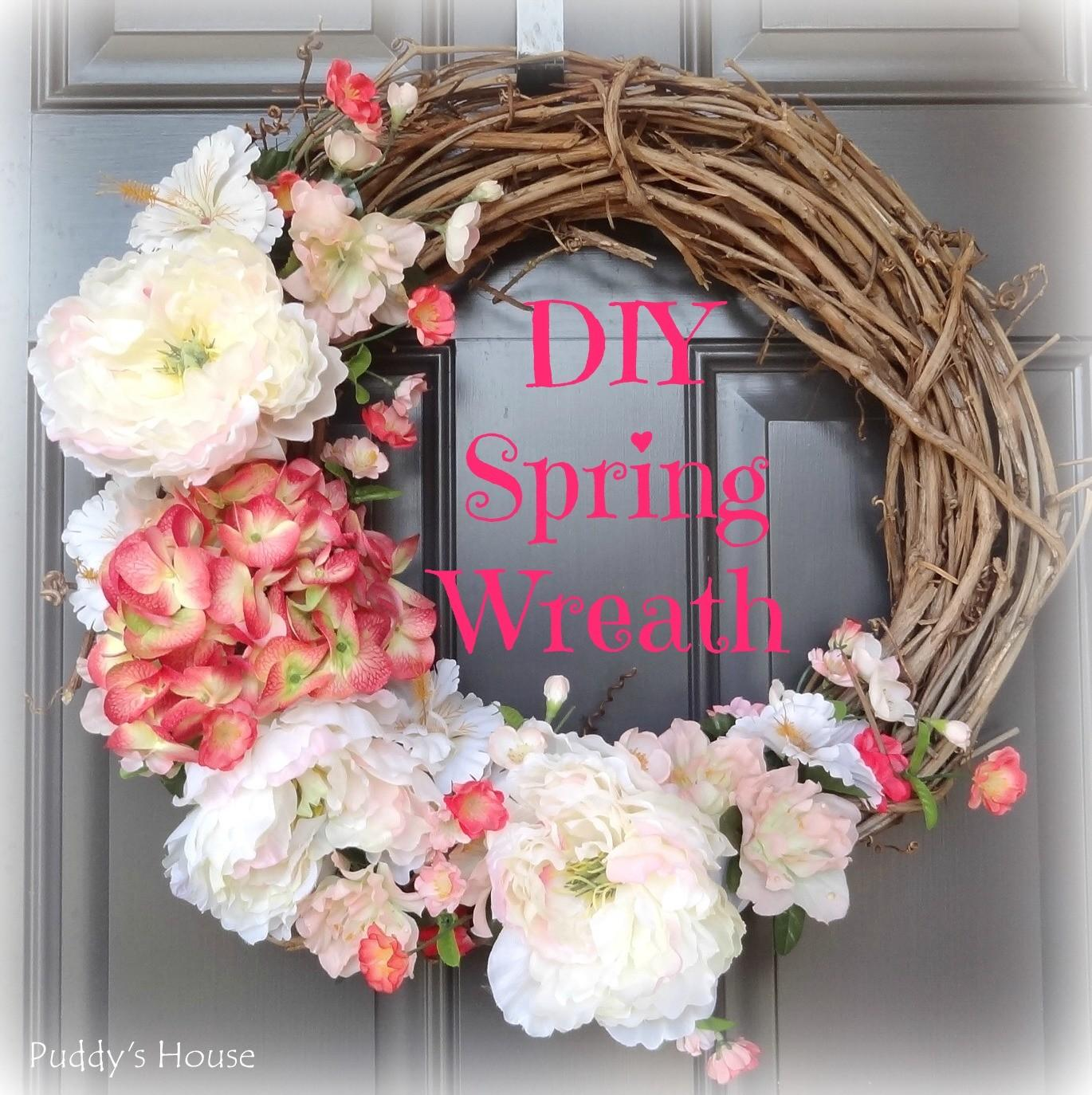 Inspiring Spring Wreaths Delicate Construction