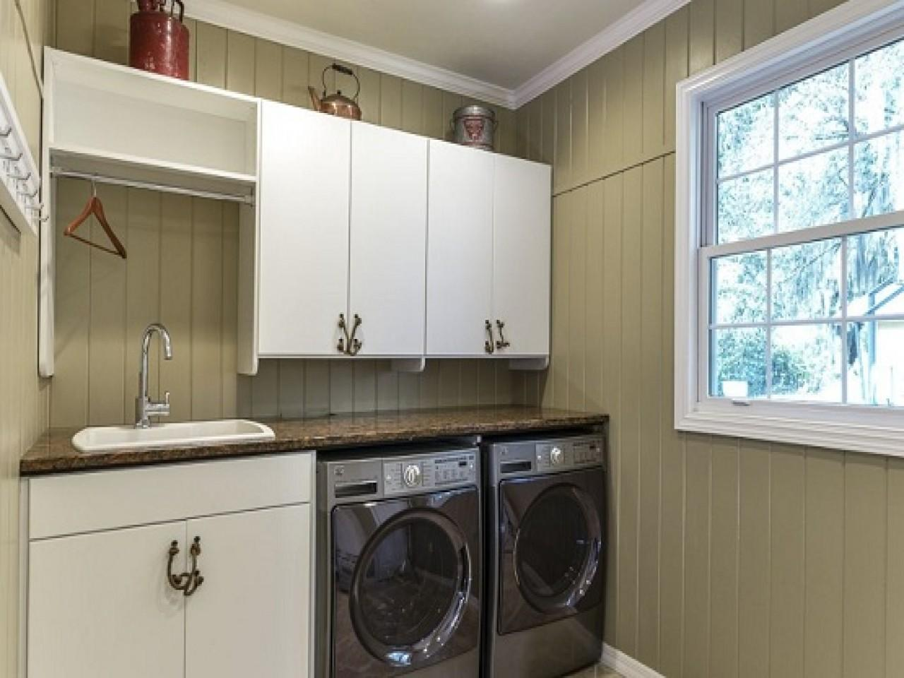 Installing Cabinets Laundry Room Home Depot