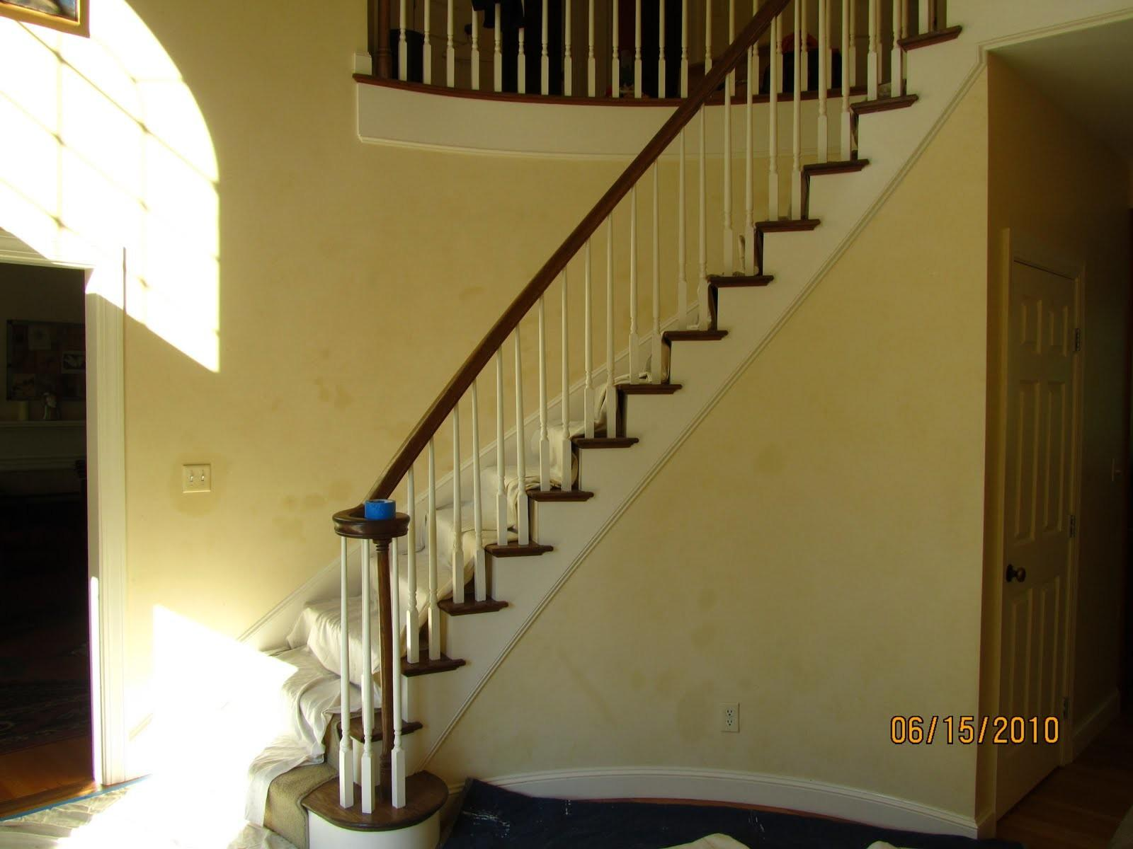 Installing Curved Staircase