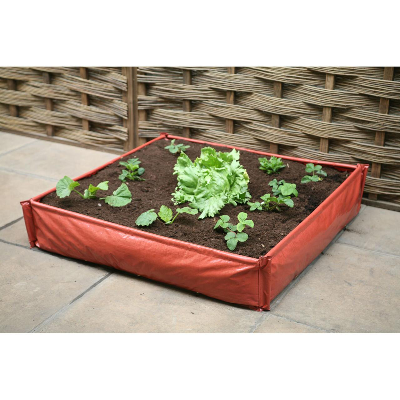 Instant Raised Bed Patio Planter Large Decorative Pots