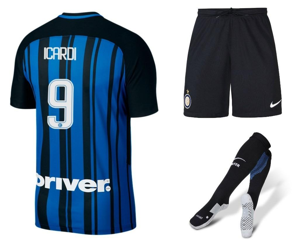 Inter Milan 2017 Nike Home Kit Football Fashion