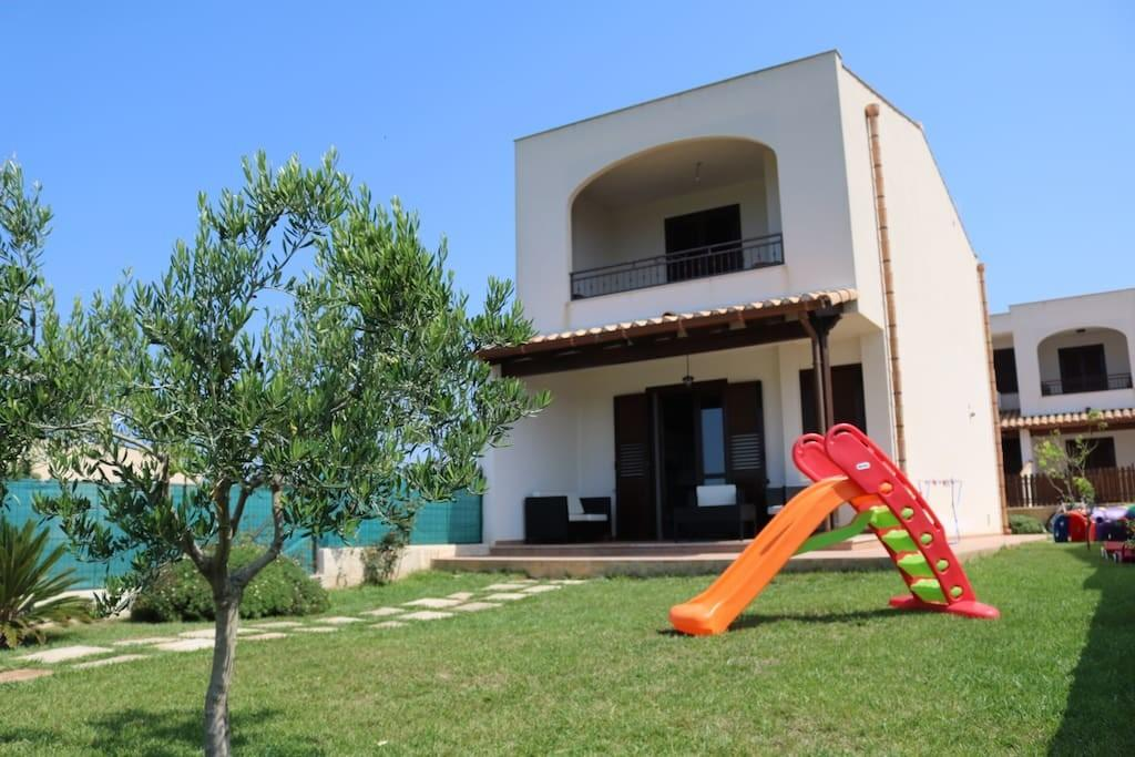 Intera Villetta Sul Mare Kite Surf Villas Rent