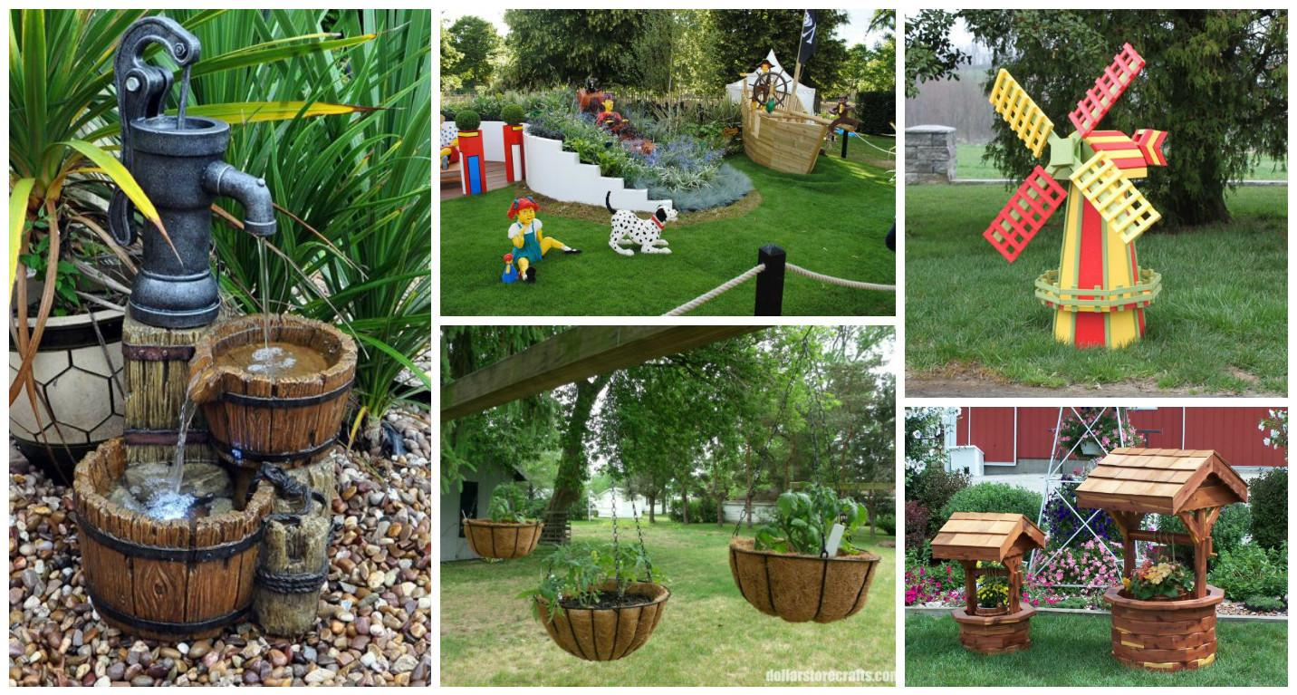 Interesting Garden Decor Ideas Summer Top