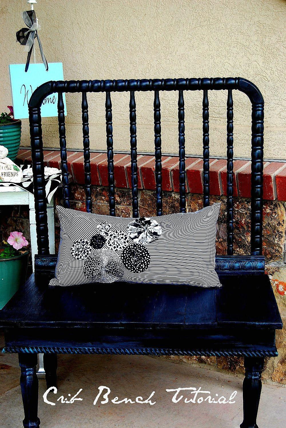 Interesting Ways Repurpose Your Baby Old Crib