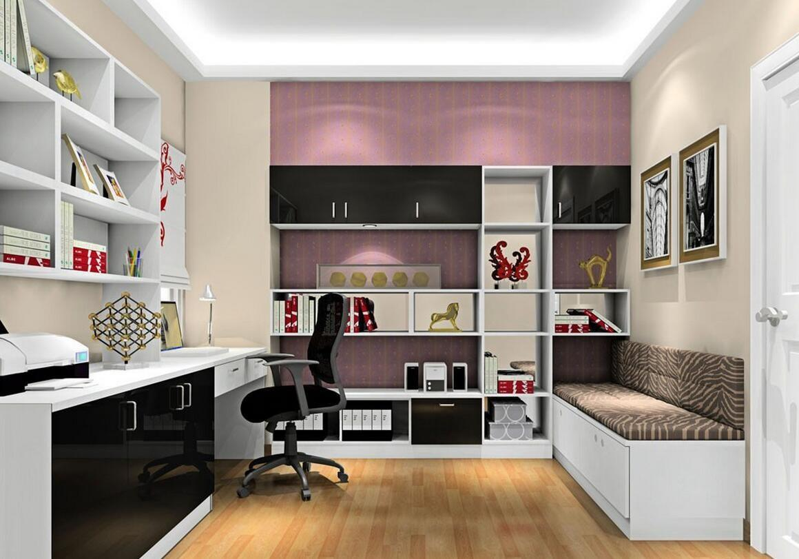 Interior Awesome Modern Study Room Bedroom