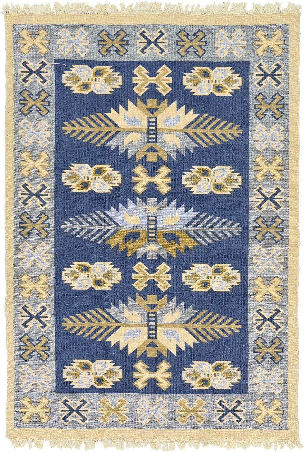 Interior Cozy Pattern Dhurrie Rugs Decor Your