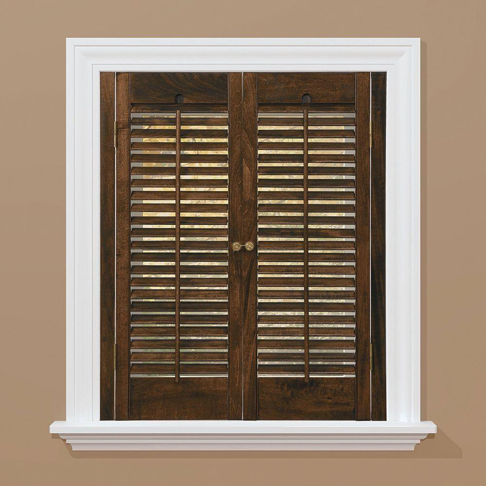 Interior Design Awesome Wooden Shutters