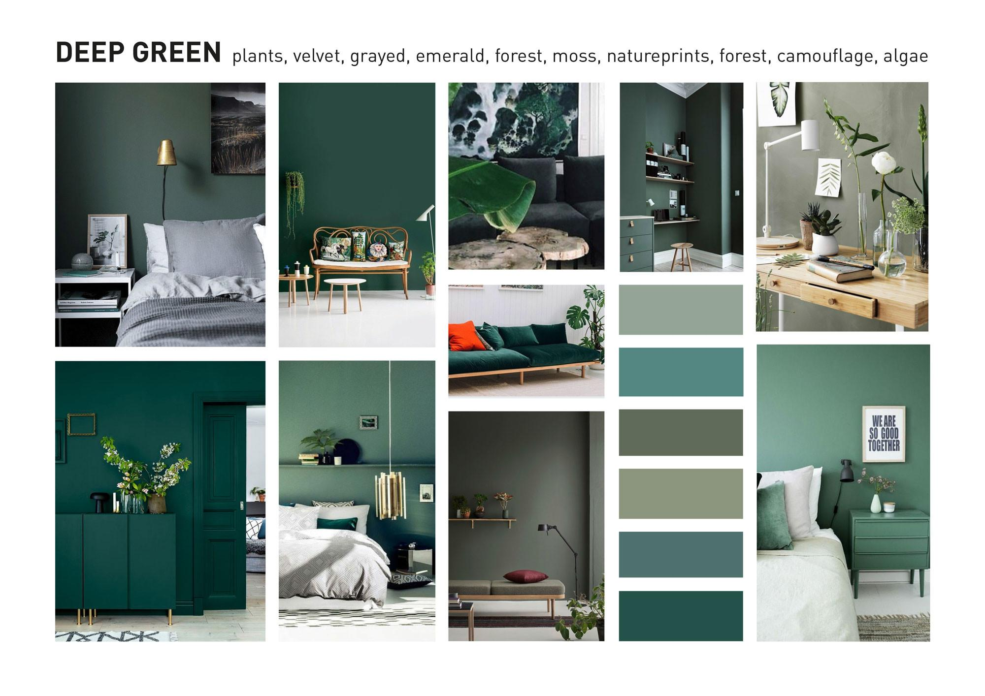 Interior Design Color Trends 2018