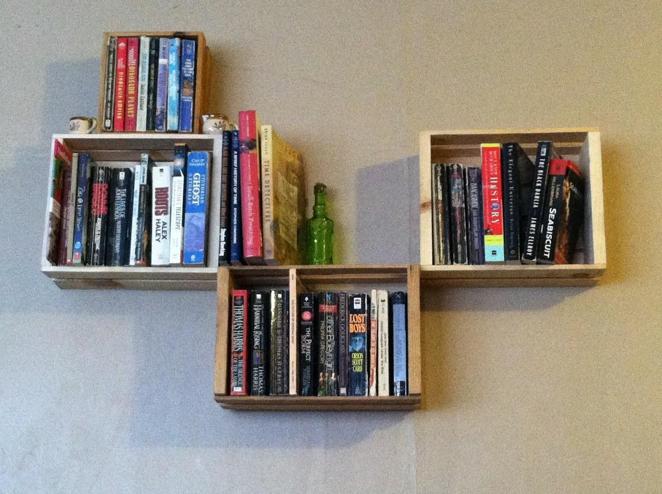 Interior Design Creative Bookshelf Ideas
