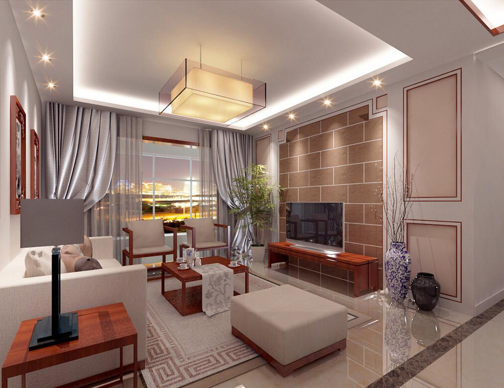 Interior Design Have Beautiful Living Space Modern