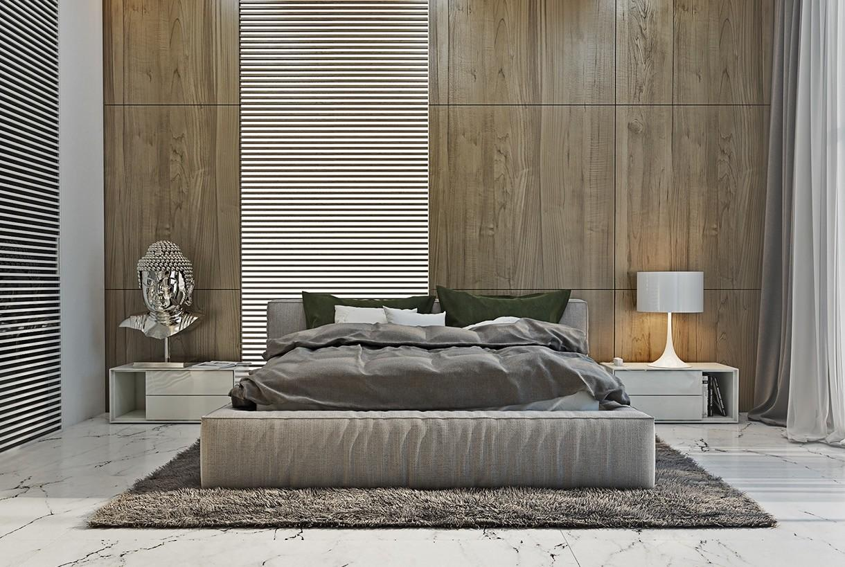 Interior Design Modern Minimalist Asian Style Bedroom
