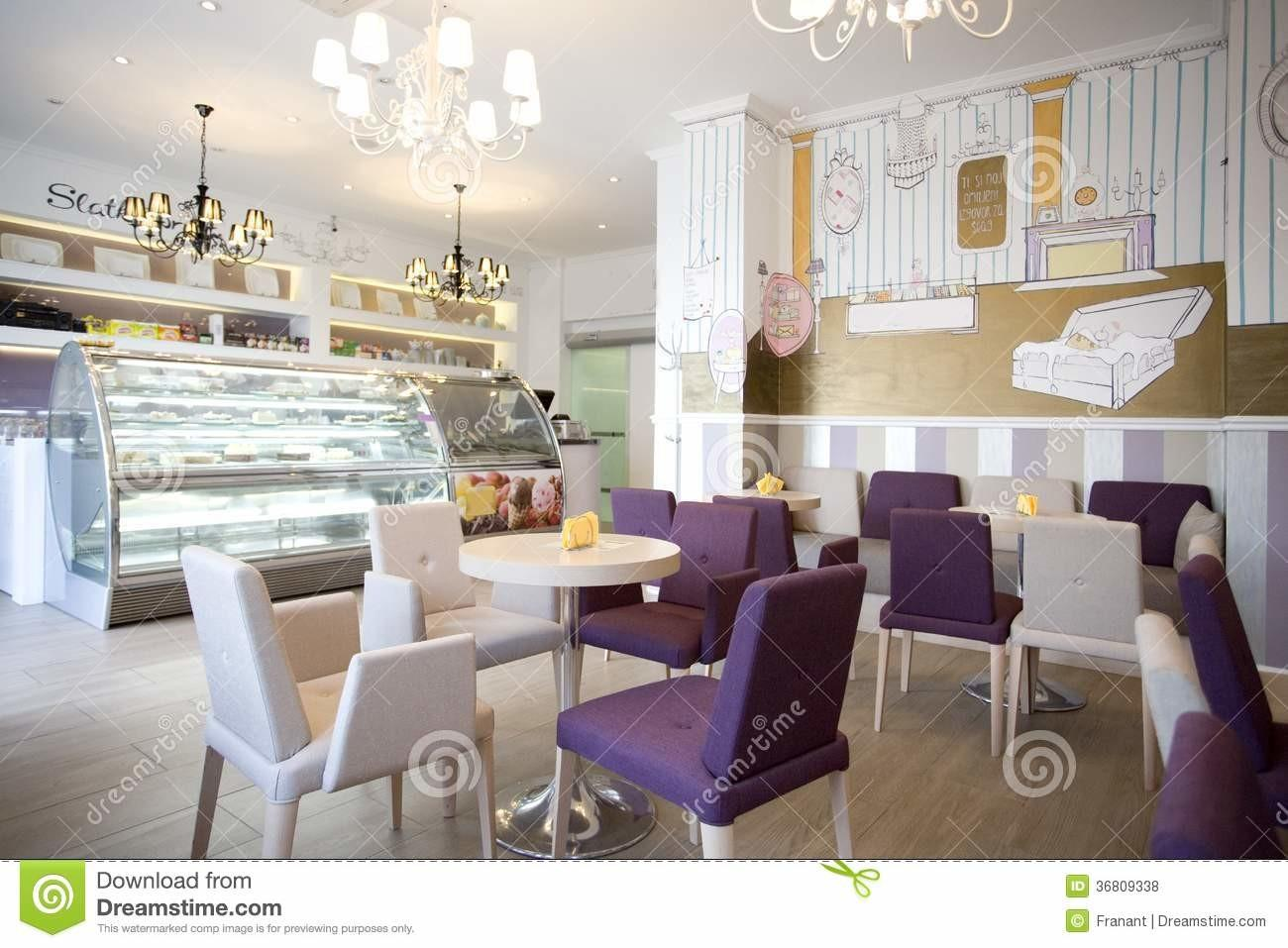 Interior Design Stock Eating Romantic