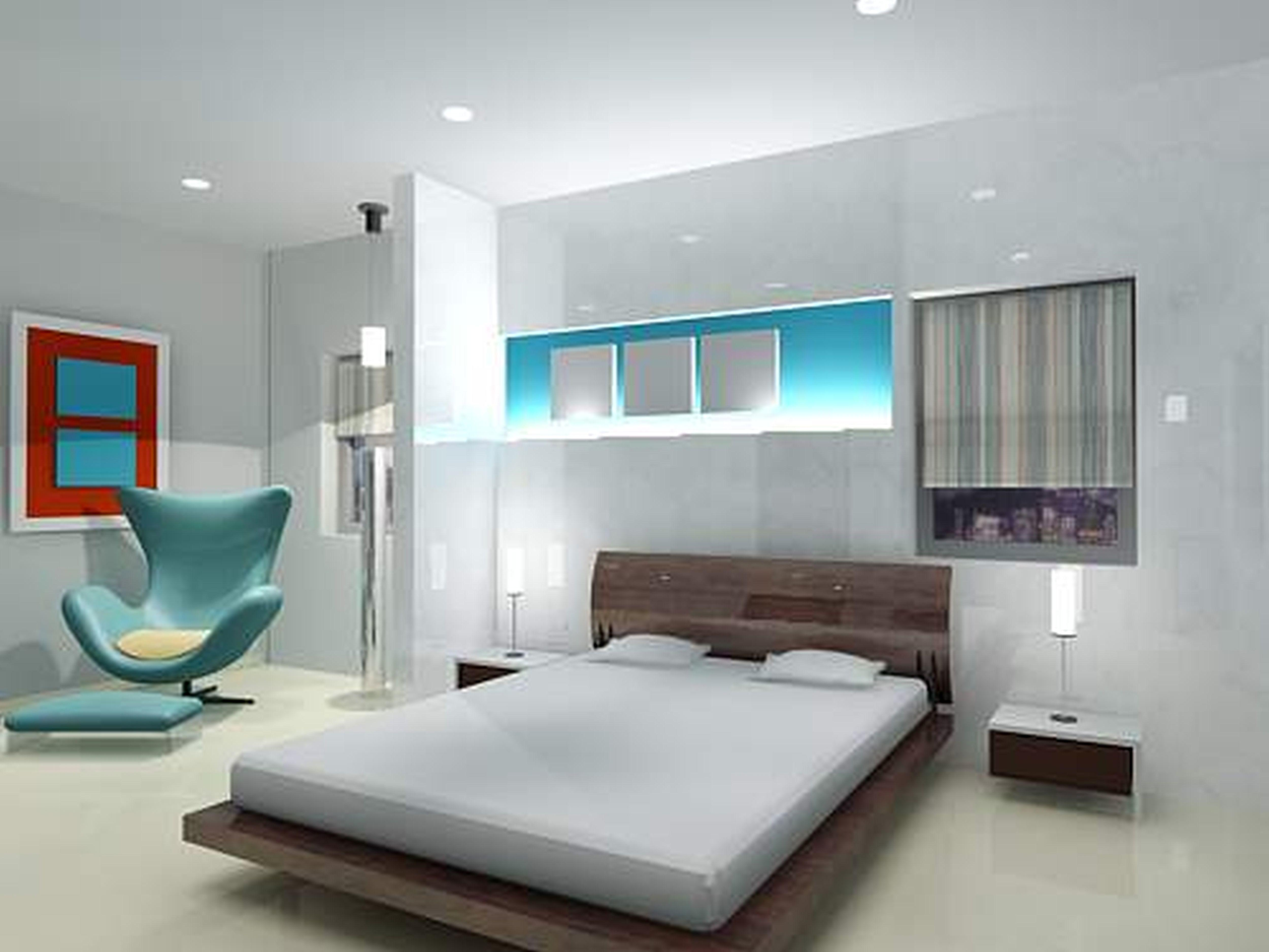 Interior Design Unforgettable House Gray White Bedroom