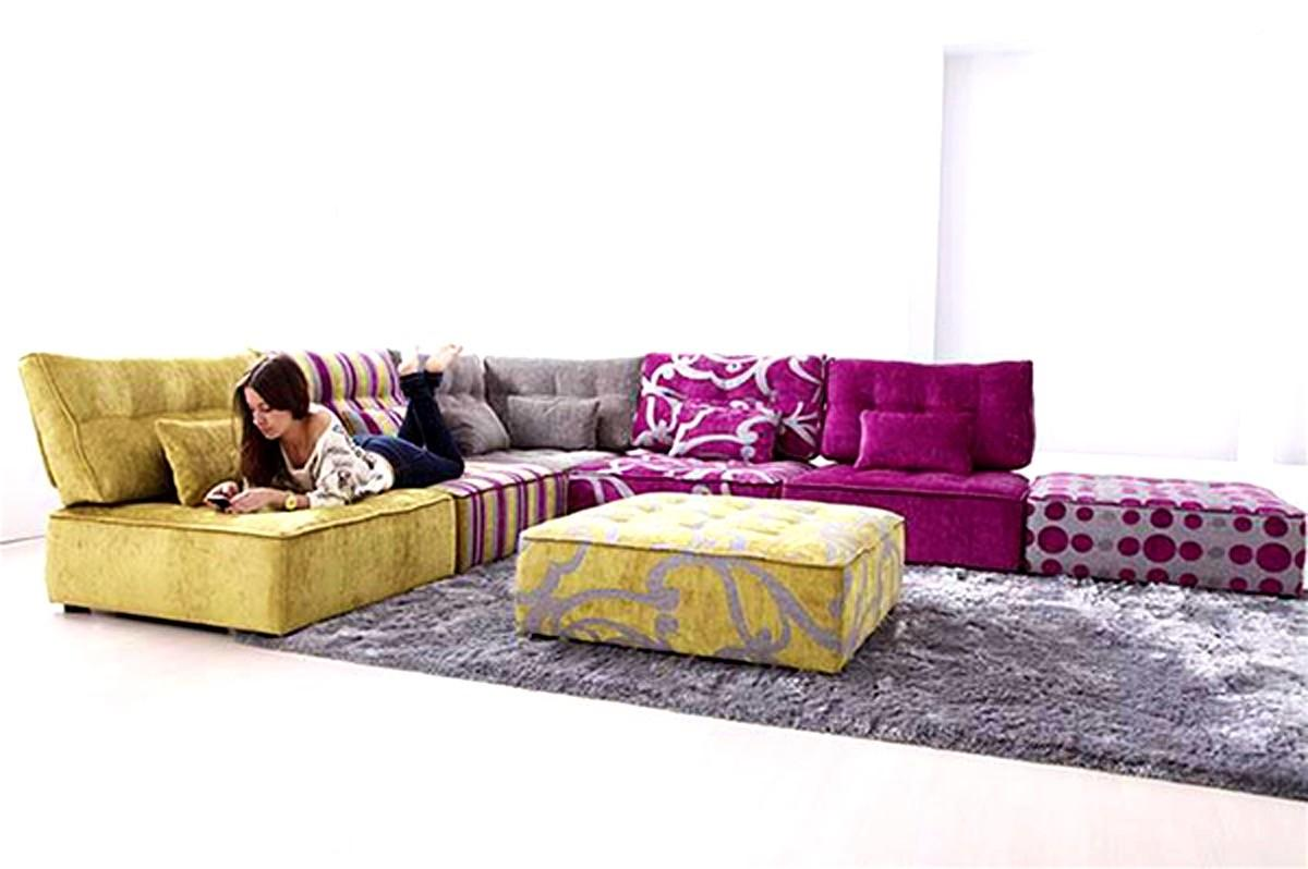 Interior Designs Fabulous Cozy Modular Sofa Design
