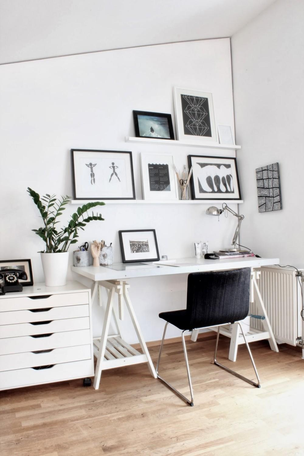 Interior Exquisite Home Office Scandinavian