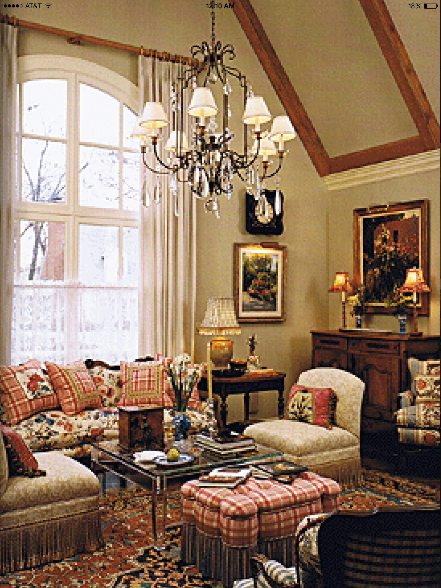 Interior French Country Home Design Decorating