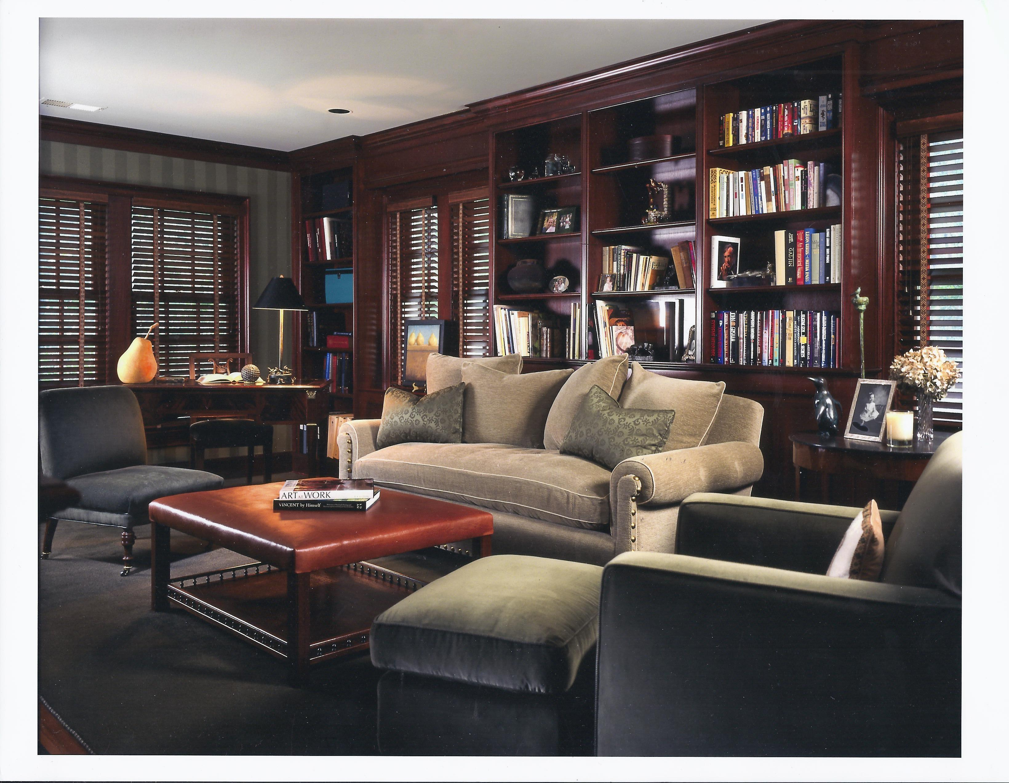 Interior Furniture Home Library