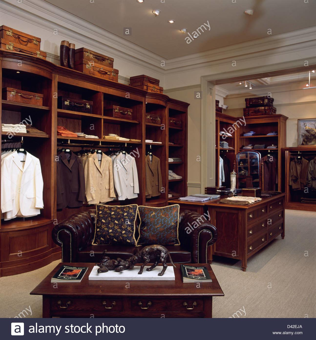 Interior Luxury Gentleman Outfitters London