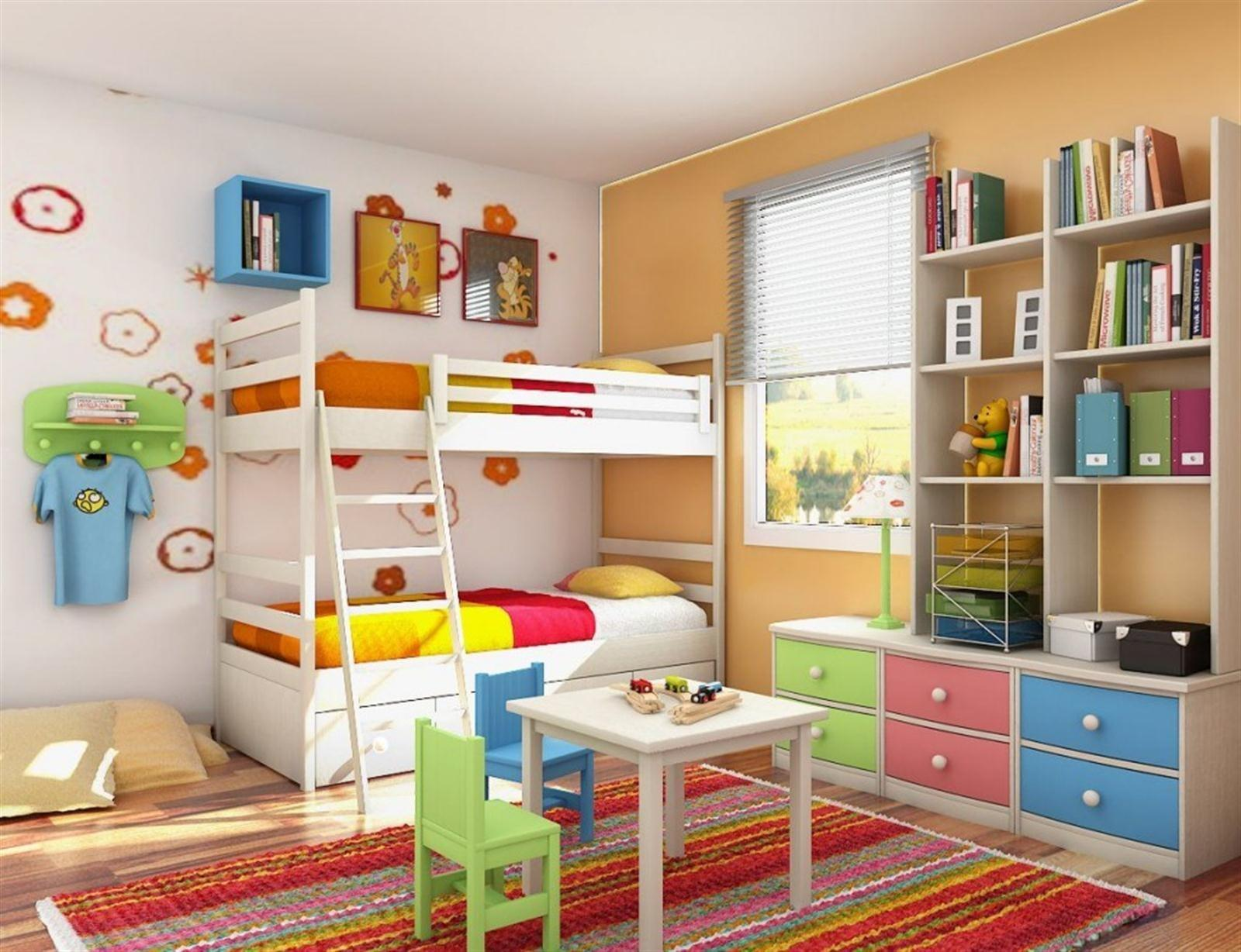Interior Modern Design Ideas Kids Rooms Bedroom
