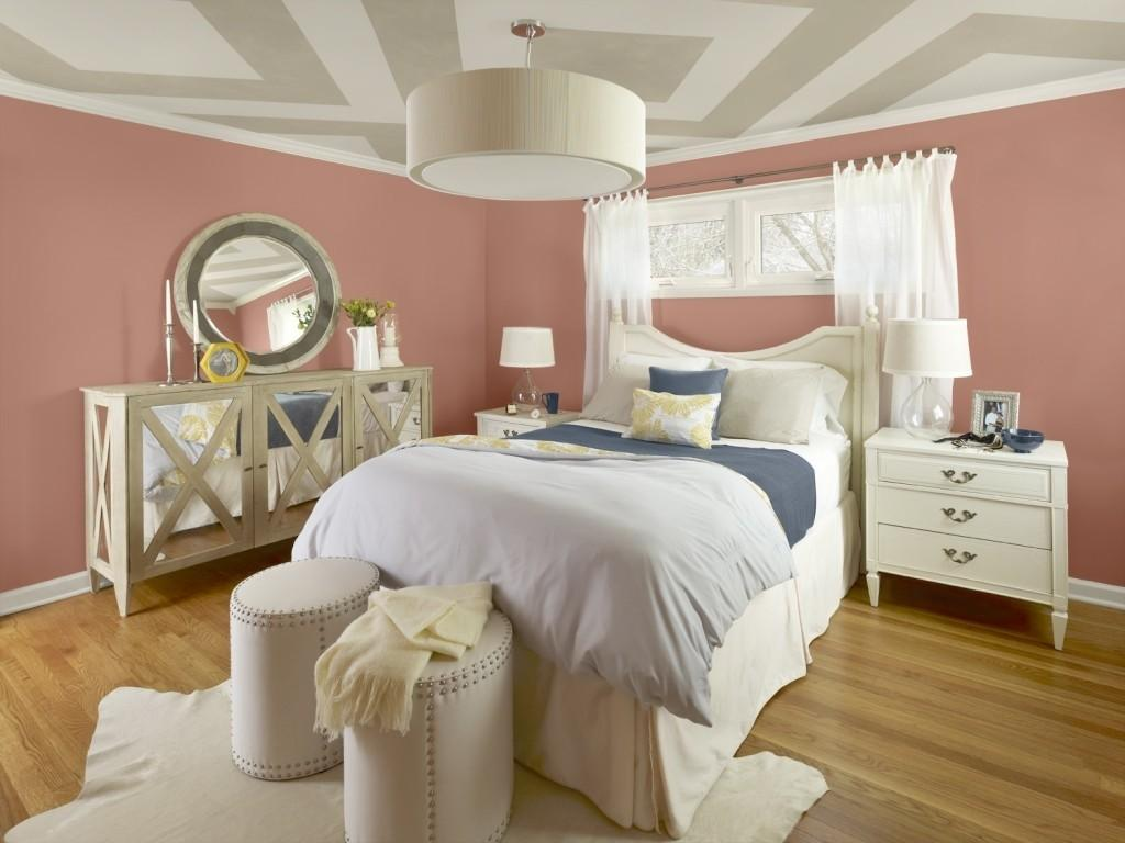 Interior Painting Can Set Pleasing Bedroom Paint Colors