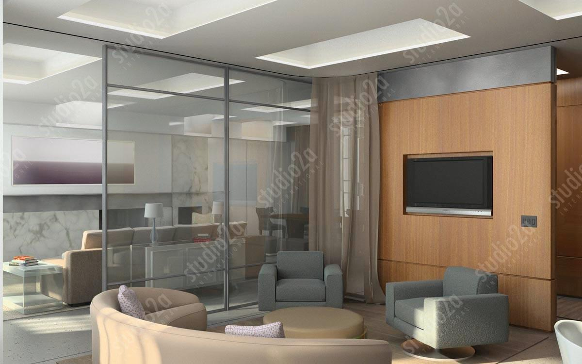 Interior Renderings Residential Penthouse