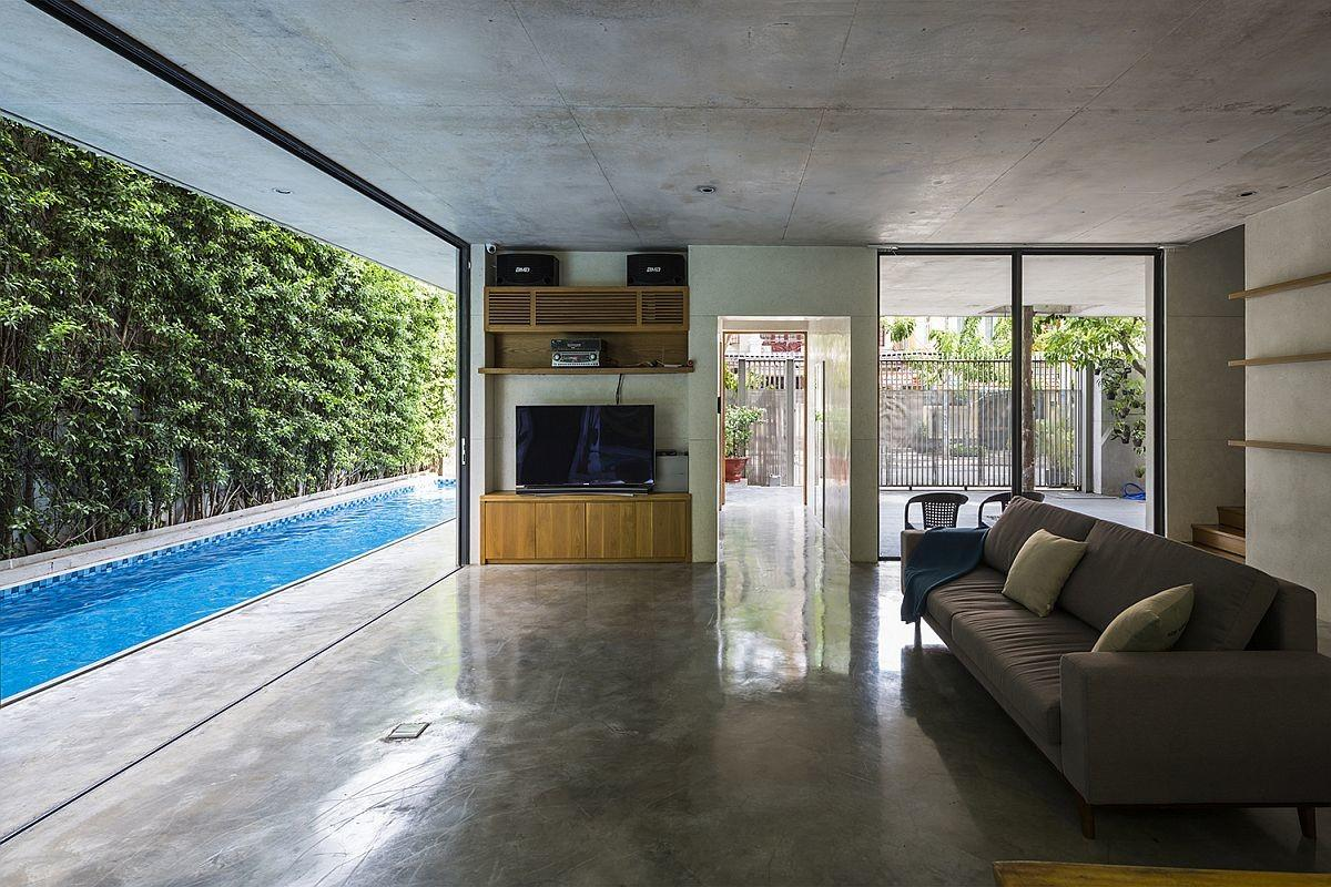 Inventive Modern House Brings Green Goodness Urban