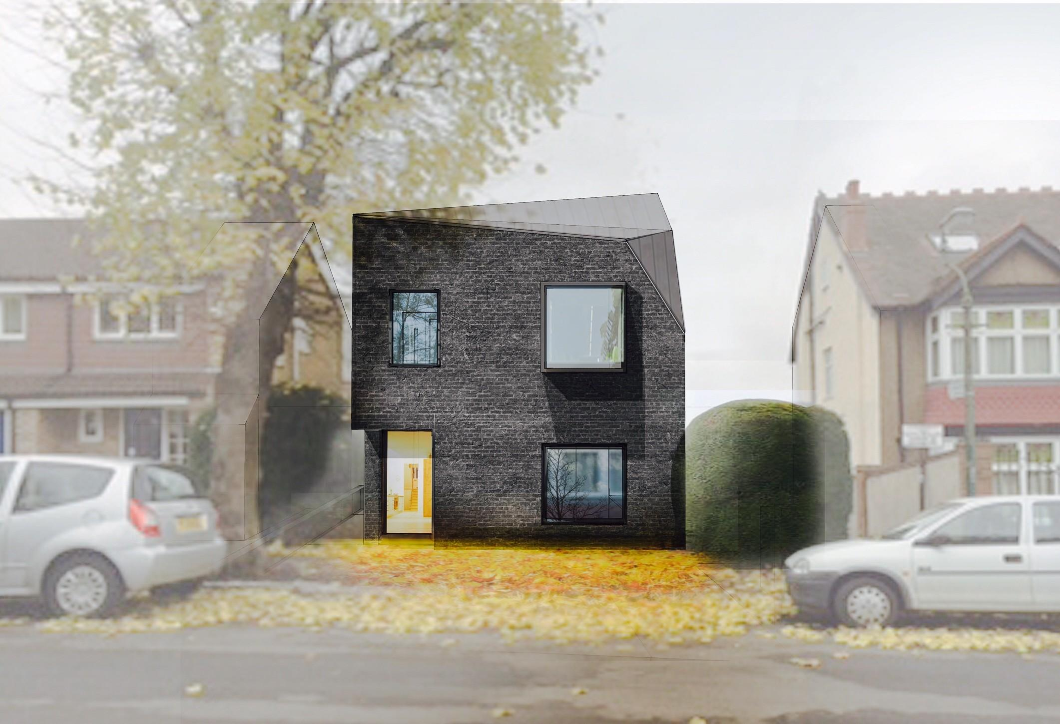 Invisible Studio Architects Urban Infill House
